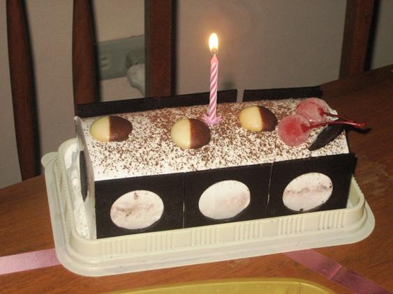 Delicious Ice Cream Cake!