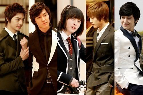 Boys Over Flowers Cast