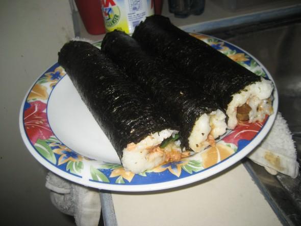 3 Sushi Rolls!